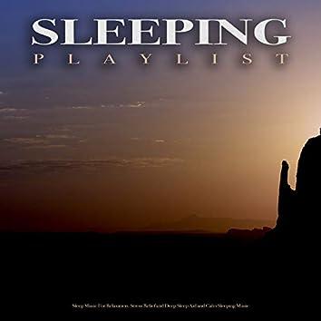 Sleeping Playlist: Sleep Music For Relaxation, Stress Relief and Deep Sleep Aid and Calm Sleeping Music