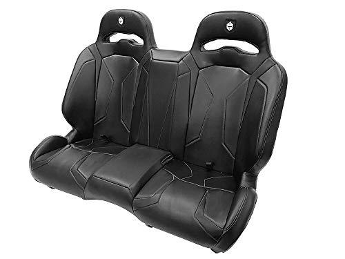 Pro Armor P144S191BL LE Suspension Bench UTV Complete Seat Black 2015-2020 Polaris RZR S4 XP 4 1000 Turbo S