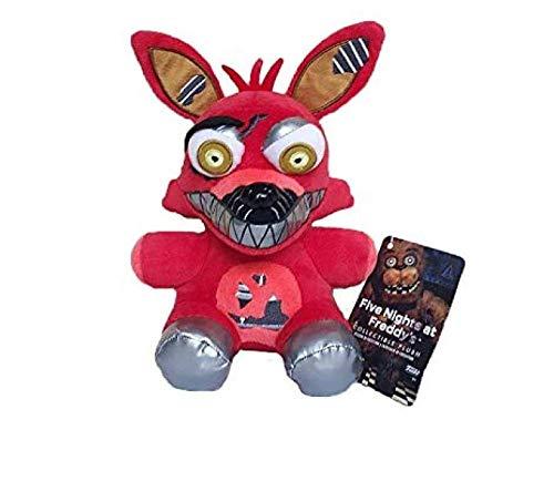 18 Cm Fnaf Foxy Knuffels Vijf Nachten Op Freddy S Nightmare Foxy Fox Knuffel Soft Knuffels Pop Voor Kinderen Geschenken