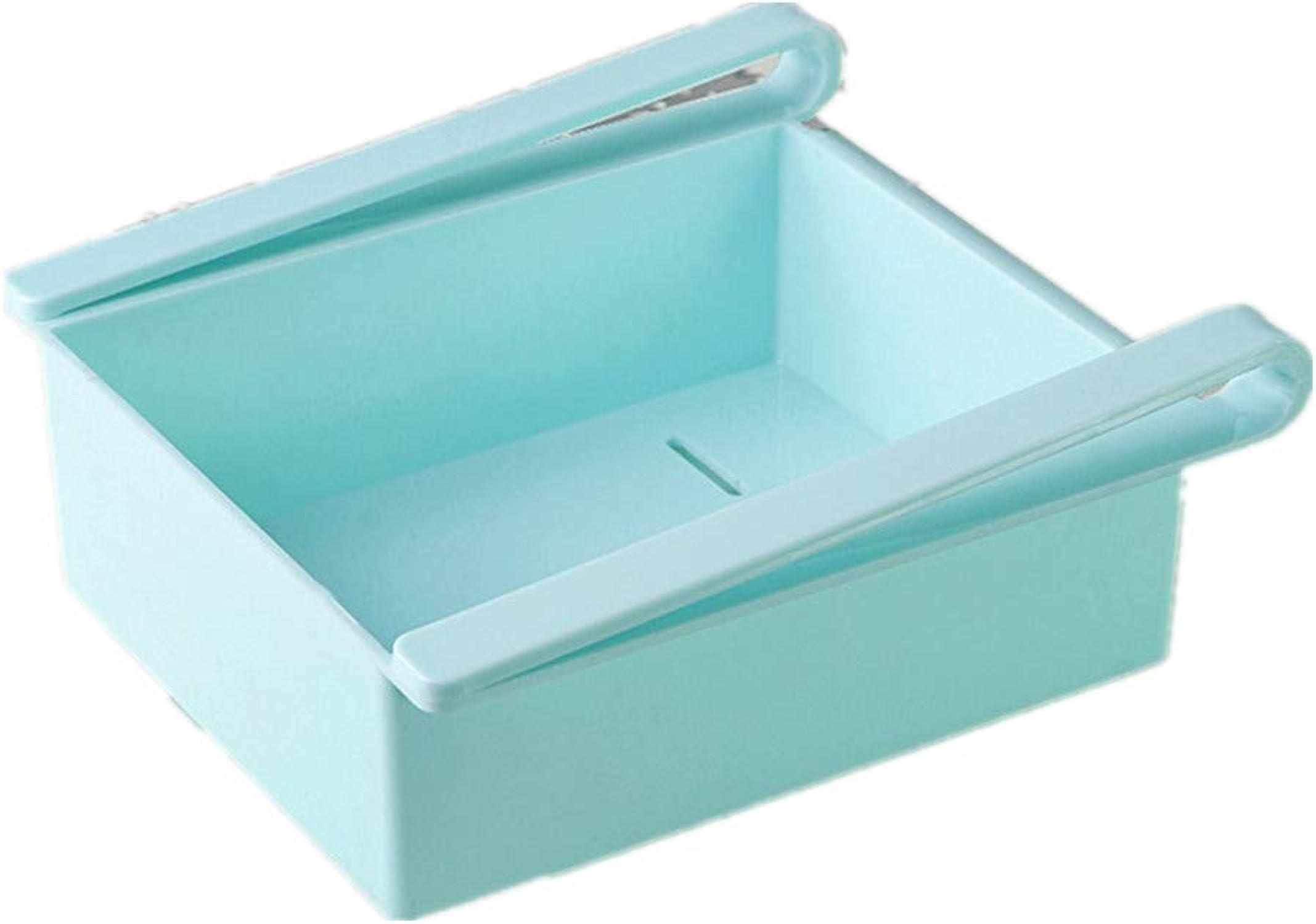 sin mínimo STO Caja de Almacenamiento del refrigerador, refrigerador Tipo Pull, Pull, Pull, clasificación de Mantenimiento Fresco, Parojo de la partición, Cesta Colgante, azul  precio al por mayor