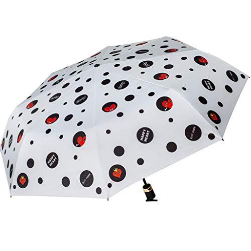 ASDFGJHJH paraplu, schattig, creatief, droog en nat zonnescherm, UV-bescherming