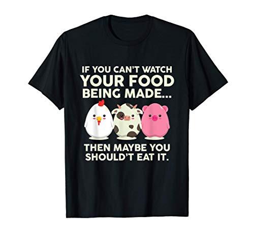 Divertida camiseta de regalo vegana para vegetarianos Camiseta