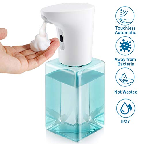 15oz Touchless Battery Operated Soap Dispenser $15.99