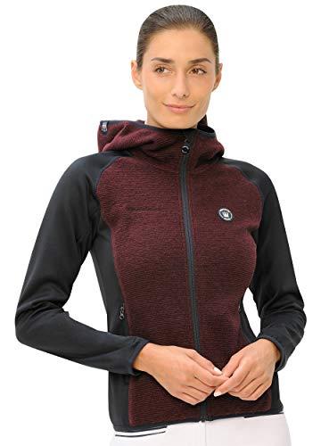 SPOOKS Damen Jacke, leichte Damenjacke mit Kapuze, Herbstjacke - Tabea Jacket Navy/Bordeaux l