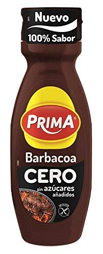 Salsa Prima Barbacoa Cero 325 G