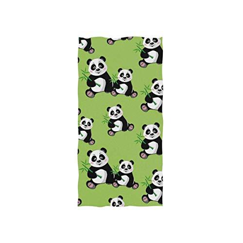 Toalla de Mano Suave, Panda Bambo Toallas de Mano Altamente absorbentes para...