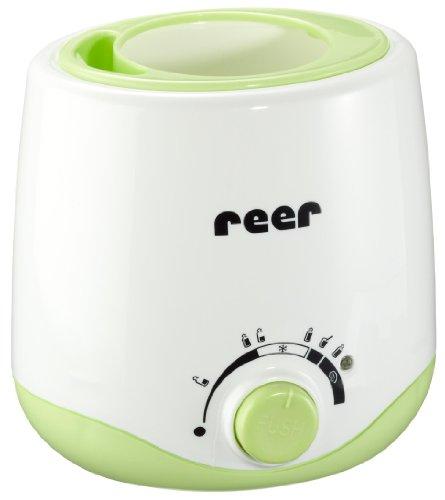 Reer 3514 - Calentador para alimentos infantiles con adaptador para el coche