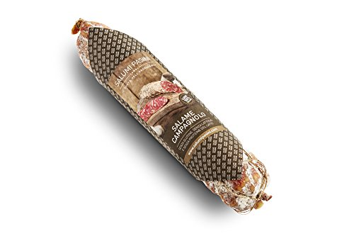 Salame campagnolo intero legato a mano con carta alimentare, 250g, Salumi Pasini