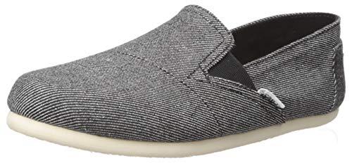 TOMS Women's Redondo Shoe, Black Twill Chambray, 6 Medium US