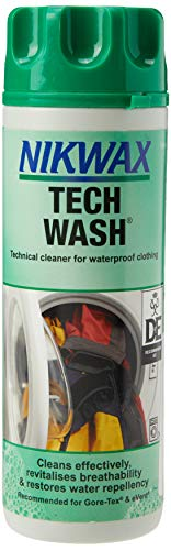 Nikwax Unisex's Tech Wash, Transparent, 300 ml