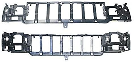 Crash Parts Plus CH1220114 Header Panel for 1996-1998 Jeep Grand Cherokee