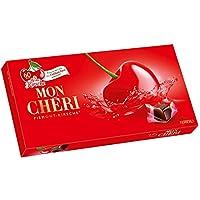 Ferrero Mon Chéri pack de 157g avec 15 bouchées cadeau extraordinaire parfait pour anniversaire, réunions, Pâques, Noël etc. Importer à partir de l'Allemagne