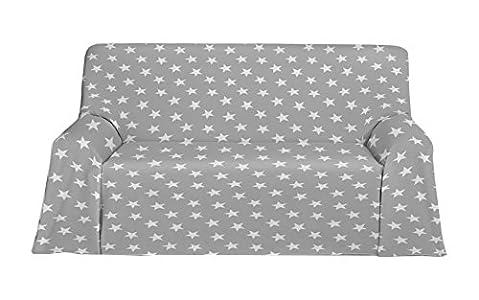 Martina Home Polar Foulard Multiusos, Tela, Gris, 300 x 270 cm