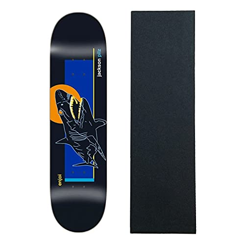 "Enjoi Skateboard Deck Pilz Skart 8.25"" x 32"" with Grip"