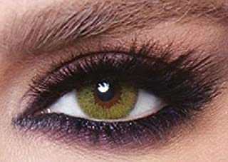 Bella Cosmetic Contact Lenses, Lime Green
