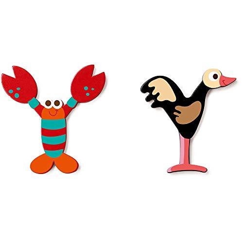 SCRATCH Alle andere mobiliteiten, decoratie en opslag voor kinderen SCRATCHScratch Deco: Wooden Letter 'Y', 2 asstd, stijlen, 3 lijm included, op kaart, meerkleurig (meer dan een e)
