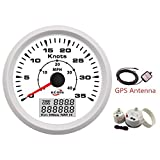 Vehicle Instrument Waterproof Car Auto Vehicle Boat Vessel GPS Speedometer Odometer 12V 12V