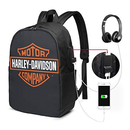 Harley Davidson USB Backpack 17-Inch Laptop Backpack...