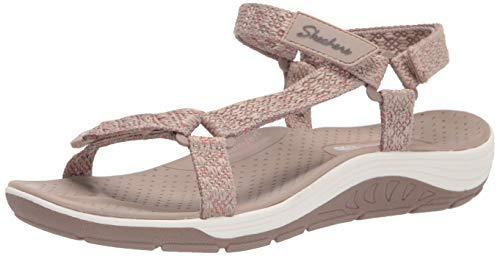 Skechers Damen 163123-TPE_42 Sandals, beige, EU
