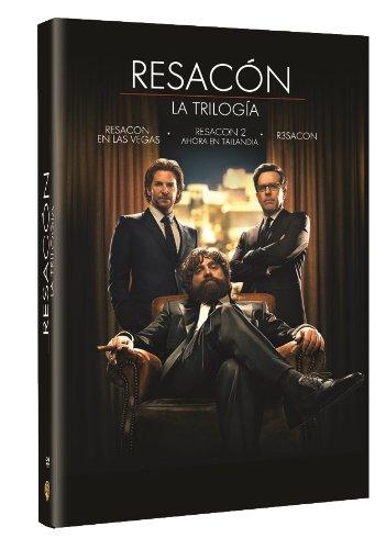 Resacón - Trilogía (Import Dvd) (2013) Bradley Cooper; Ed Helms; Zach Galifian
