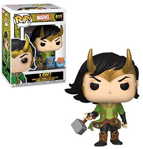 Pop! Marvel Loki (Free Comic Book Day 2020 Version) Vinyl Figure