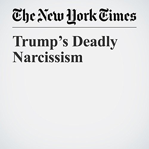 Trump's Deadly Narcissism copertina