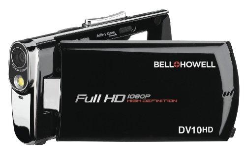 bell howell cheap camcorders Bell+Howell Slice Ultra-Thin 1080p Full HD Digital Video Camera - DV10HD