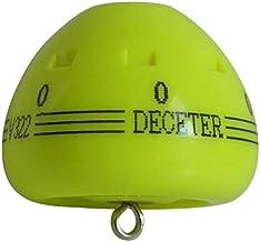 浮動ウキ DECETER(ディセター) イエロー Lサイズ 0番