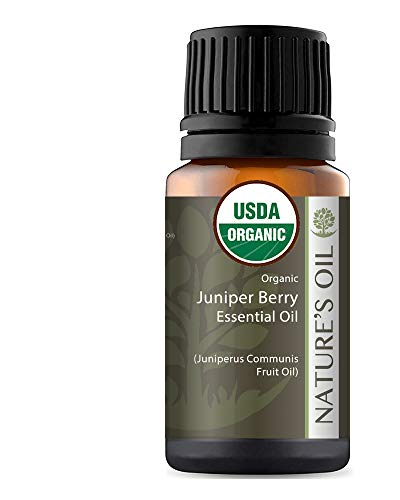 Best Juniper Berry Essential Oil Pure Certified Organic Therapeutic Grade 10Ml