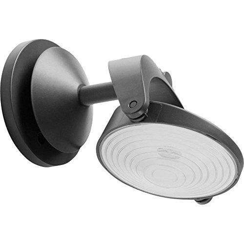 Système d'éclairage solaire Sun'Connec Ampoule LED 1 W blanc froid Lutec Stack P 9037 anthracite