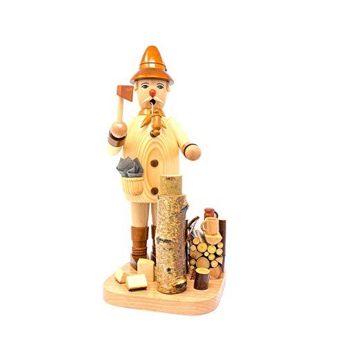 Drechslerei Friedbert Uhlig 028/n - Figura de picador de madera natural (35 cm de altura, madera regional, torneada, hecha a mano)