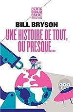 Une histoire de tout ou presque... de Bill Bryson