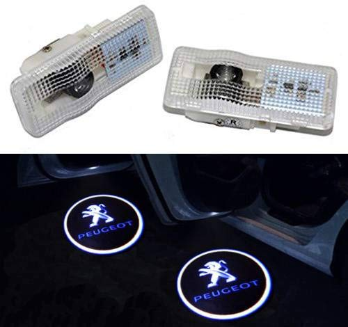 Sunshine Fly 2 stuks autodeur logo deurverlichting LED welkom logo projector Light Laser 3D deur verlichting
