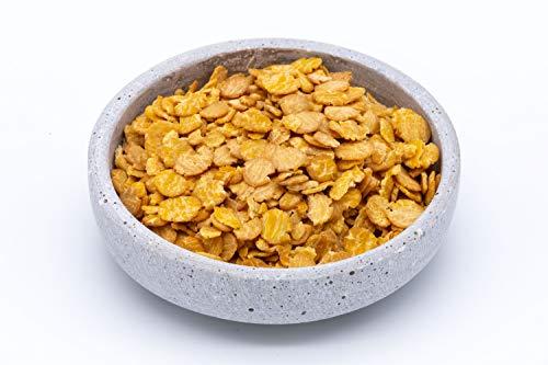 Flocons de soja bio sans gluten 1,5 kg biologiques complets sans OGM Soya d'Autriche6x250g