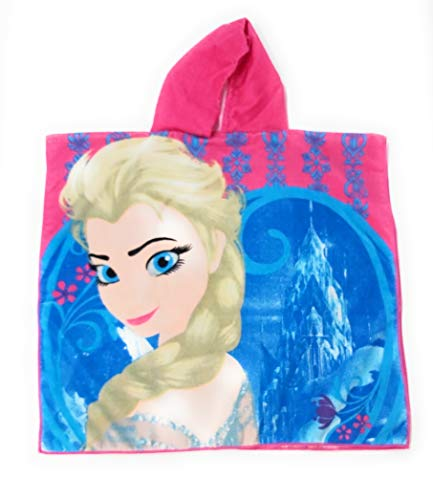 Poncho toalla Frozen Disney Elsa Anna