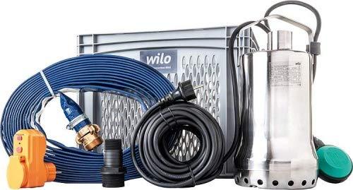 Wilo Flutset Flut Set Tauchpumpe Überflutungsschutz Hochwasserschutz Wasserpumpe Pumpe 11000 l/h