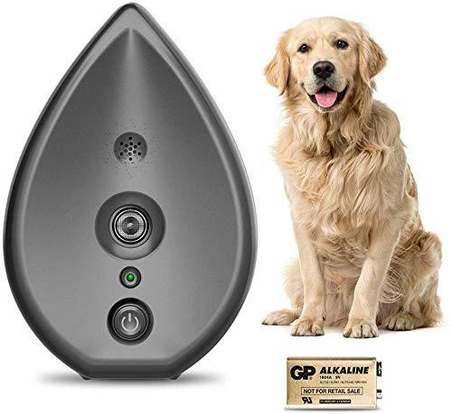 CYWEB Hund Ultraschall Anti Bellen Repeller Effektive Hund Antibell Trainer Barking Stoppen Trainingsgerät, Bellkontrolle für große und kleine Hunde (Grau)