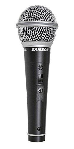 Samson R21S dynamische microfoon, met klem + kabel XLR-XLR + harde case zwart