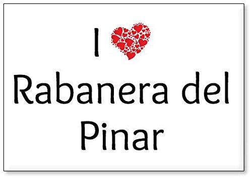 Mundus Souvenirs - Amo Rabanera del Pinar, Imán para Nevera (diseño 1)