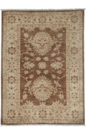 Solo Rugs Oriental Silky Oushak Portia One of a Kind Hand Knotted Area Rug, 3' 0