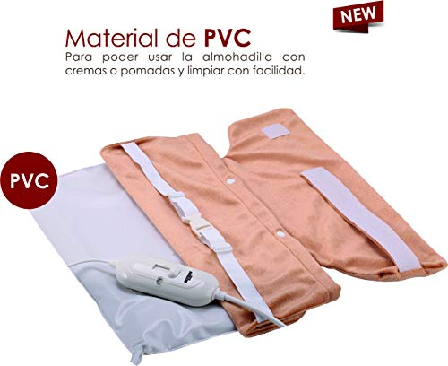 Almohadilla cervical y espalda PVC (Fácil de limpiar
