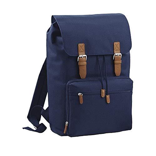 Bagbase - Zaino per Portatile 43cm (Taglia unica) (Blu navy)