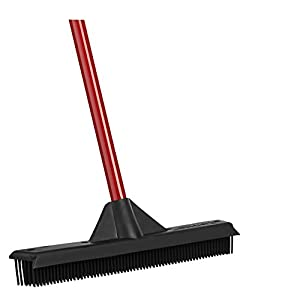 RAVMAG Rubber Broom and Squeegee