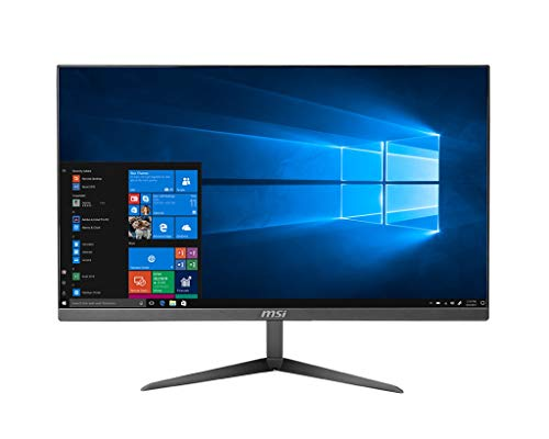 "MSI All in One PRO 24X 10M-043EU, Schermo IPS 23.8"" Full HD, CPU i5-10210U, SSD M.2 256GB, HDD 1TB, RAM 8GB, Intel UHD Graphics, Dual Lan, Anti-Flickr e Anti-Glare, Windows 10 Home, VESA 75x75"