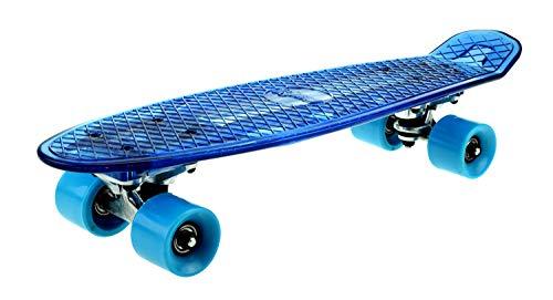 Toi-Toys 62353Z - Skateboard, Mini Cruiser mit Licht, ca. 55 cm, sortiert