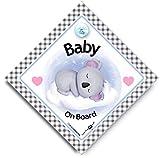 Baby Koala On Board Sign - Cartello a ventosa per finestrino auto