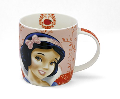 Personality Taza de desayuno, leche, capuchino, Mug Disney 400 cc porcelana Churchill (Blancanieve)