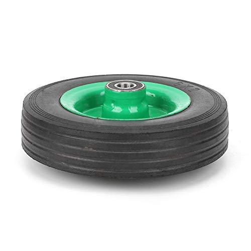 Neumático de goma, rueda estable de 6 pulgadas, patrones antideslizantes de grado industrial de 6 pulgadas para ocasiones severas Una variedad de carros de herramientas