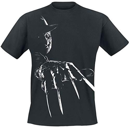 Nightmare On Elm Street A Freddy Krueger Claws T-Shirt schwarz XL