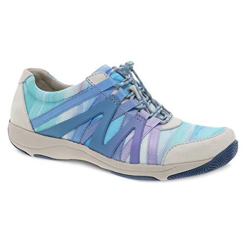 Dansko Women's Henriette Blue Multi Comfort Sneaker 8.5-9 M US